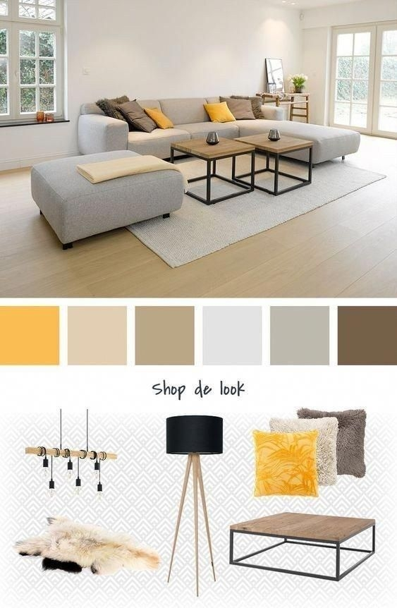90 attractive Interior Design Color Schemes From Various Rooms 5305
