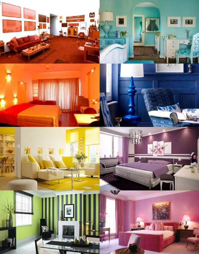 90 attractive Interior Design Color Schemes From Various Rooms 5250