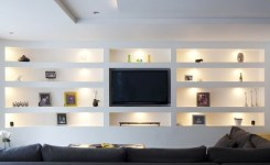 90 Most Popular Wall Mount Tv Ideas For Living Room 37