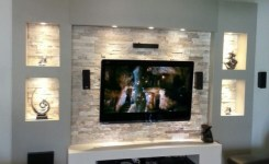 90 Most Popular Wall Mount Tv Ideas For Living Room 6