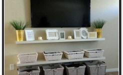 90 Most Popular Wall Mount Tv Ideas For Living Room 68