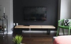 90 Wall Mount Tv Ideas For Small Living Room 17