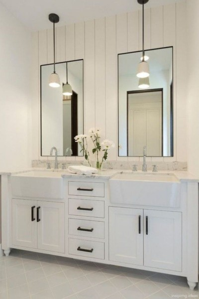 91 Modern Double Bathroom Vanity - is Your Modern Double Bathroom Vanity Large Enough to Accommodate Two People Simultaneously? 5887