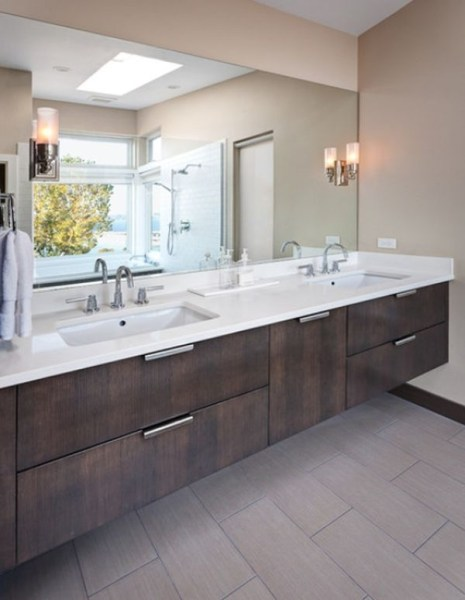 91 Modern Double Bathroom Vanity - is Your Modern Double Bathroom Vanity Large Enough to Accommodate Two People Simultaneously? 5903
