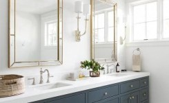 91 Modern Double Bathroom Vanity Is Your Modern Double Bathroom Vanity Large Enough To Accommodate Two People Simultaneously 37