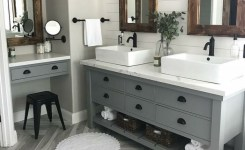 91 Modern Double Bathroom Vanity Is Your Modern Double Bathroom Vanity Large Enough To Accommodate Two People Simultaneously 40