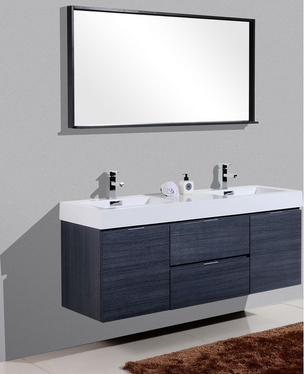 91 Modern Double Bathroom Vanity - is Your Modern Double Bathroom Vanity Large Enough to Accommodate Two People Simultaneously? 5931