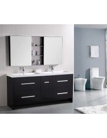 91 Modern Double Bathroom Vanity - is Your Modern Double Bathroom Vanity Large Enough to Accommodate Two People Simultaneously? 5945