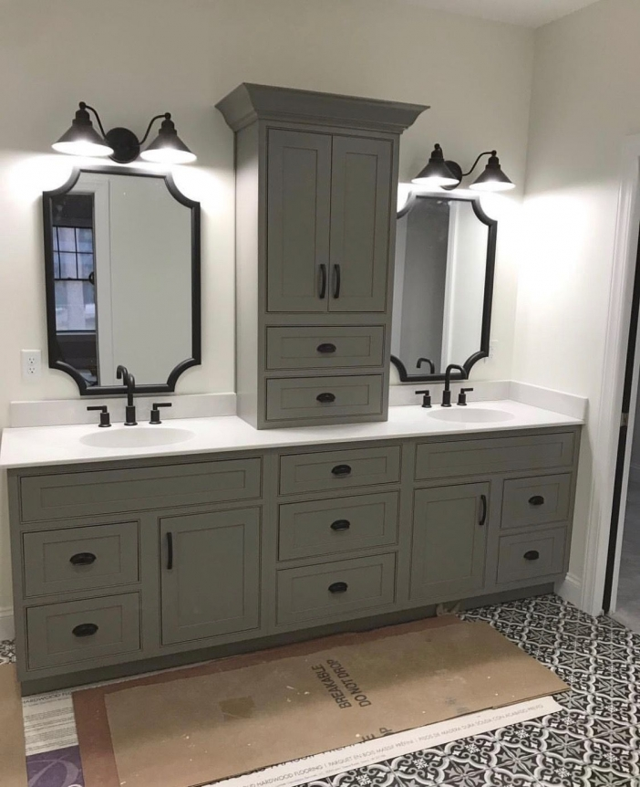 91 Modern Double Bathroom Vanity - is Your Modern Double Bathroom Vanity Large Enough to Accommodate Two People Simultaneously? 5958