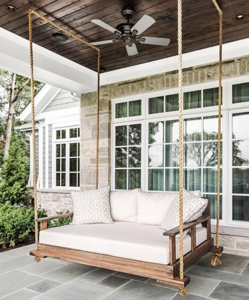 92 Awesome Porch Swing Ideas In Backyard - 7 Tips for Choosing the Perfect Porch Swing for Your Backyard Paradise 6198