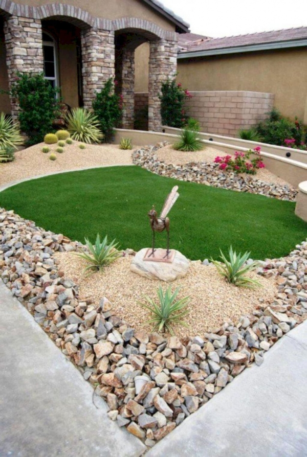 99 Small Front Yard Landscaping Ideas Low Maintenance 4404