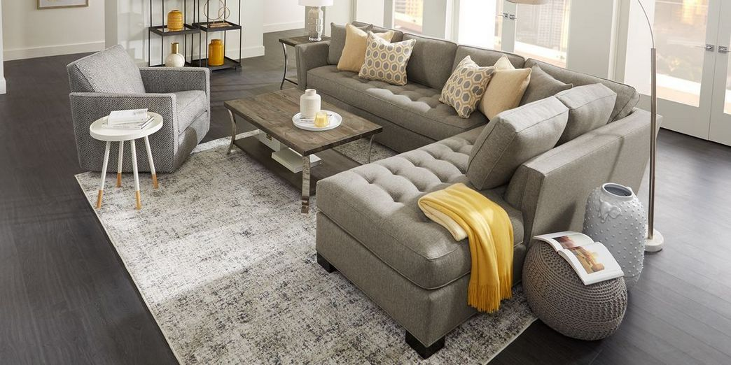 97 Most Popular Top Choices Rooms To Go Cindy Crawford Sectional 10