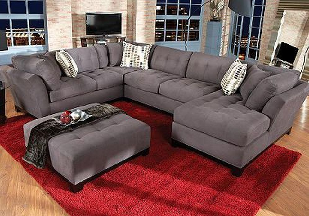 97 Most Popular Top Choices Rooms To Go Cindy Crawford Sectional 78