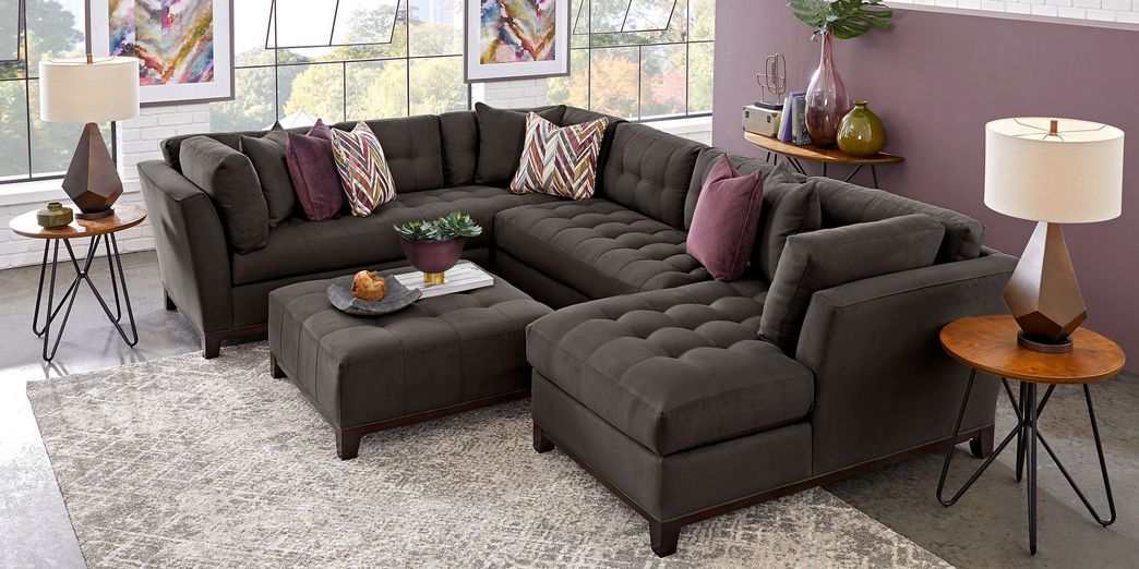 97 Most Popular Top Choices Rooms To Go Cindy Crawford Sectional 83