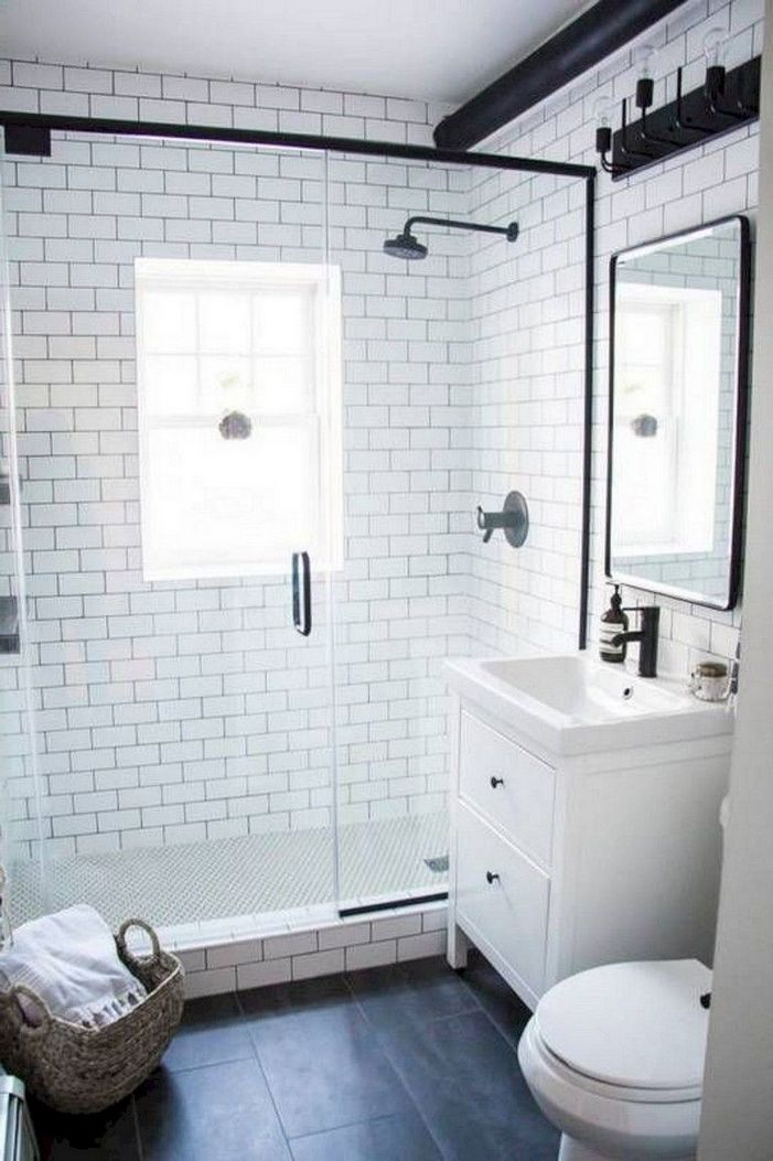 100 Awesome Design Ideas For A Small Bathroom Remodel 20