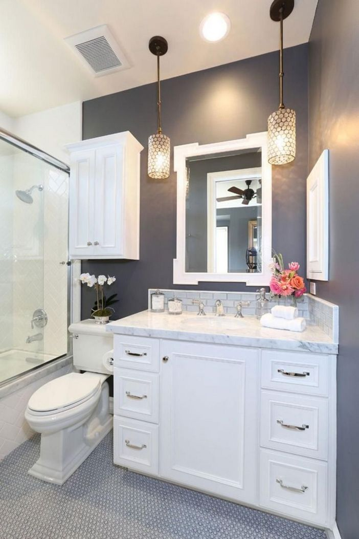 100 Awesome Design Ideas For A Small Bathroom Remodel 36