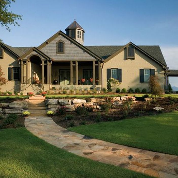 63 Amazing Ranch Home Design Ideas 60