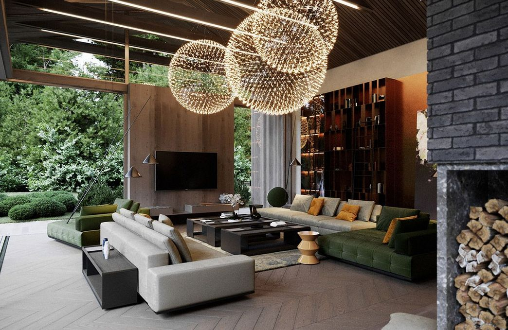83 Interior Design Models That Look Luxurious And Are Designed To Decorate The Living Room 1