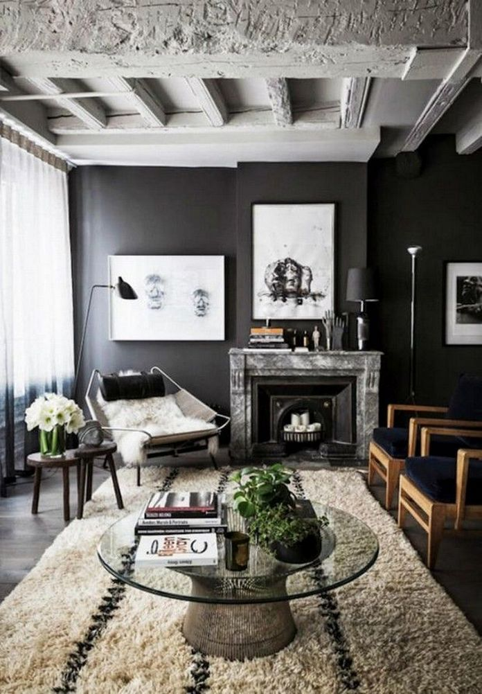 83 Interior Design Models That Look Luxurious And Are Designed To Decorate The Living Room 11