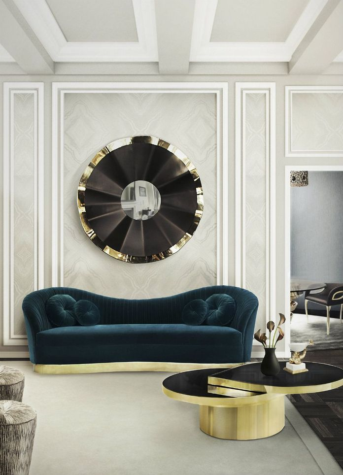 83 Interior Design Models That Look Luxurious And Are Designed To Decorate The Living Room 22