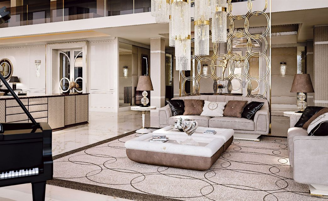 83 Interior Design Models That Look Luxurious And Are Designed To Decorate The Living Room 23