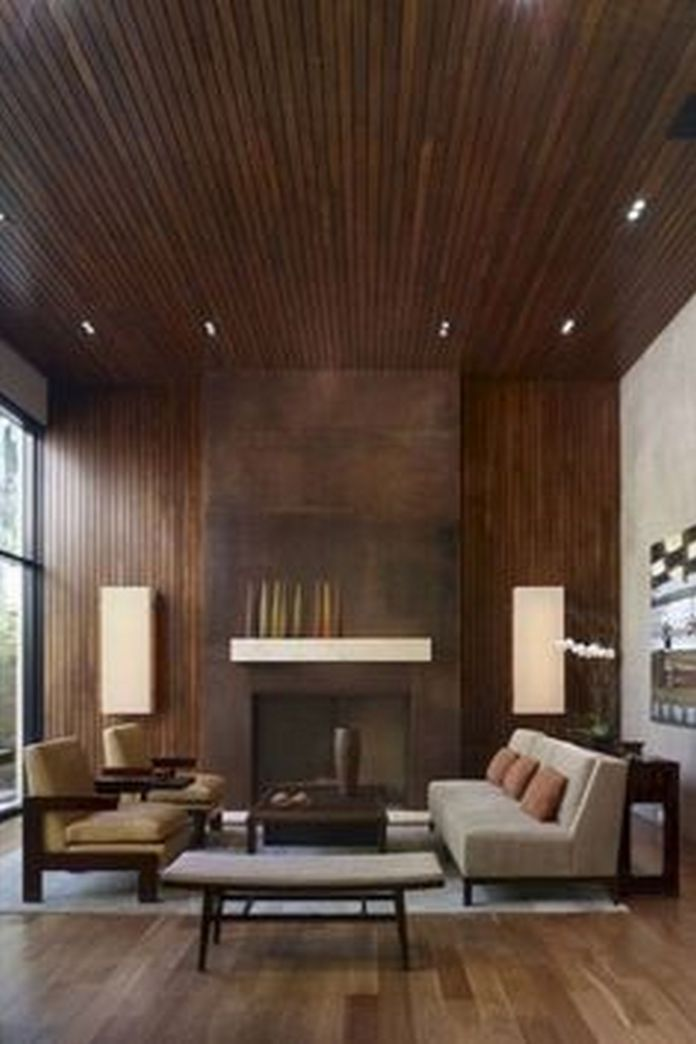 83 Interior Design Models That Look Luxurious And Are Designed To Decorate The Living Room 24