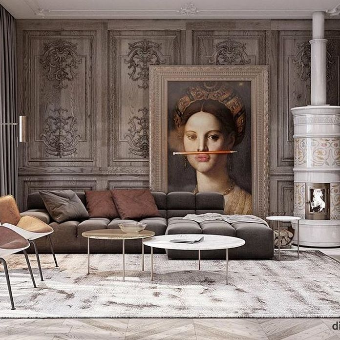 83 Interior Design Models That Look Luxurious And Are Designed To Decorate The Living Room 32