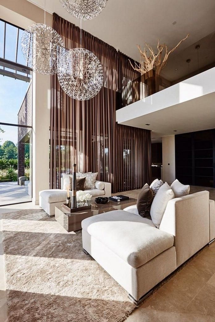 83 Interior Design Models That Look Luxurious And Are Designed To Decorate The Living Room 37