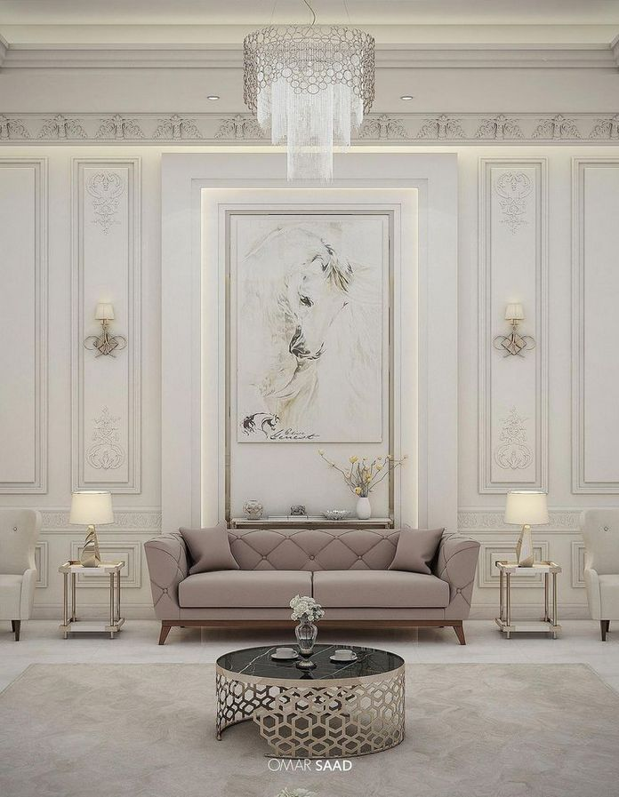 83 Interior Design Models That Look Luxurious And Are Designed To Decorate The Living Room 39