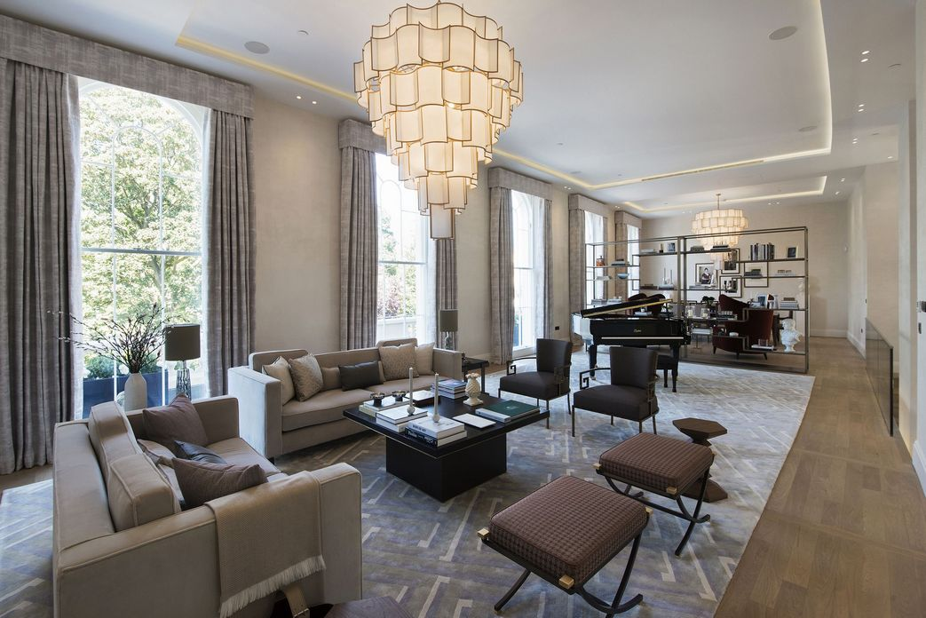 83 Interior Design Models That Look Luxurious And Are Designed To Decorate The Living Room 48