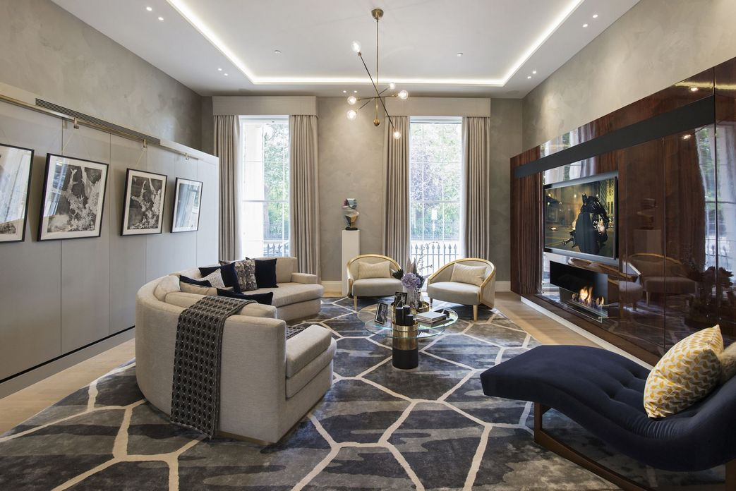 83 Interior Design Models That Look Luxurious And Are Designed To Decorate The Living Room 54