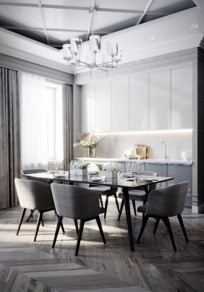 83 Interior Design Models That Look Luxurious And Are Designed To Decorate The Living Room 57