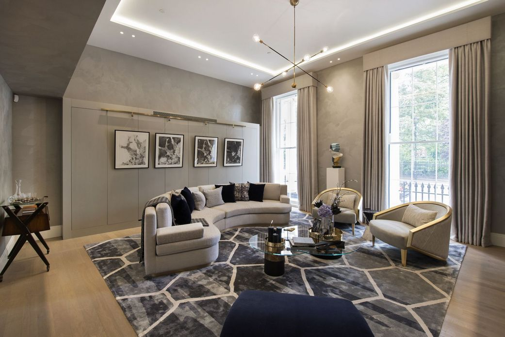 83 Interior Design Models That Look Luxurious And Are Designed To Decorate The Living Room 58