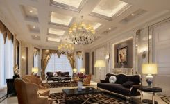 83 Interior Design Models That Look Luxurious And Are Designed To Decorate The Living Room 63