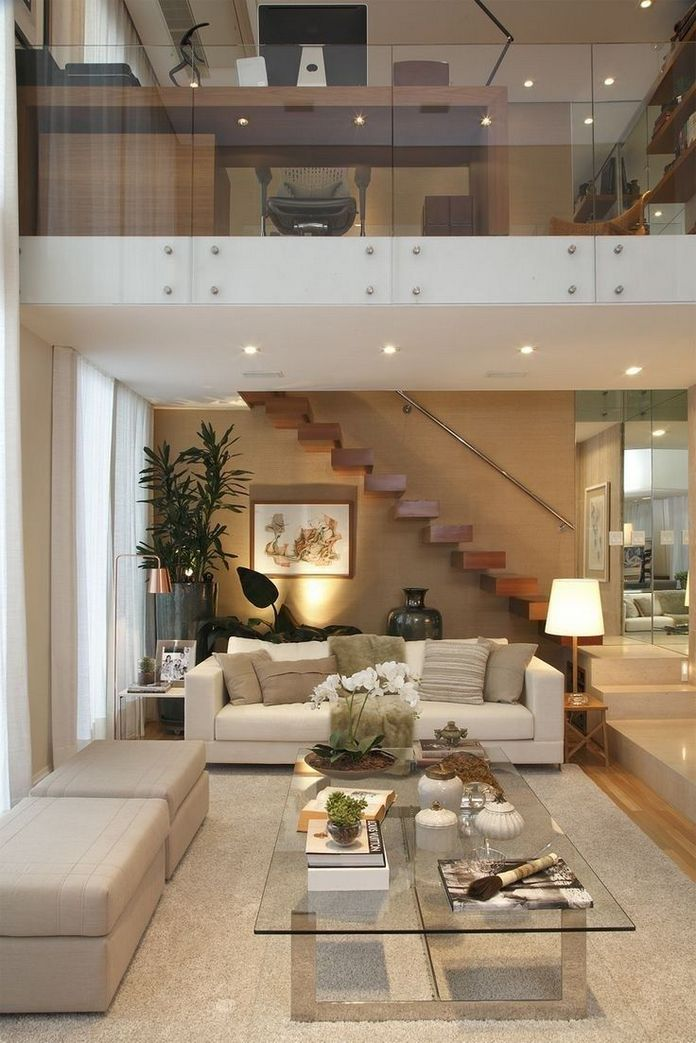 83 Interior Design Models That Look Luxurious And Are Designed To Decorate The Living Room 64