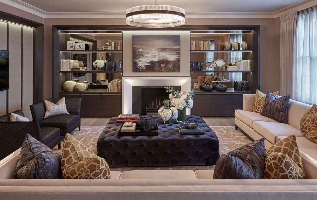 83 Interior Design Models That Look Luxurious And Are Designed To Decorate The Living Room 67