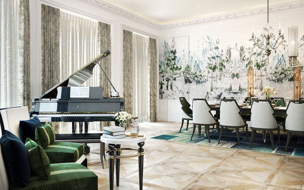 83 Interior Design Models That Look Luxurious And Are Designed To Decorate The Living Room 74