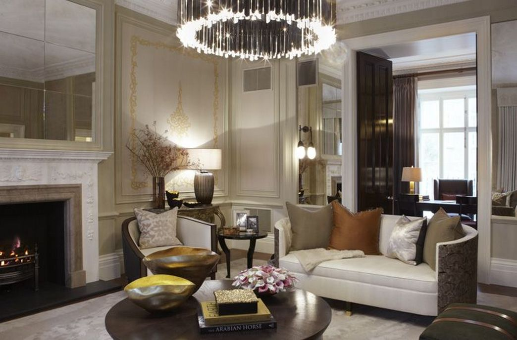 83 Interior Design Models That Look Luxurious And Are Designed To Decorate The Living Room 75