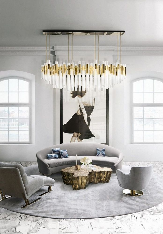 83 Interior Design Models That Look Luxurious And Are Designed To Decorate The Living Room 83