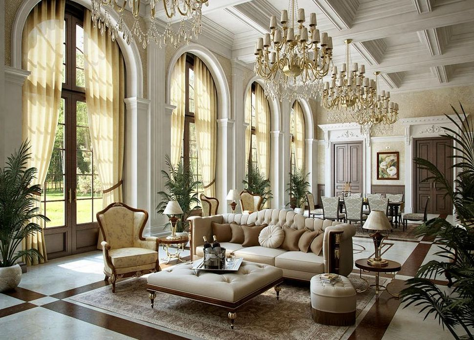 83 Interior Design Models That Look Luxurious And Are Designed To Decorate The Living Room 9