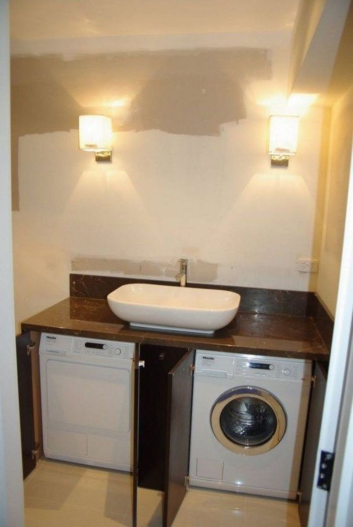 87 Outstanding Basement Laundry Rooms Decoration Models 12