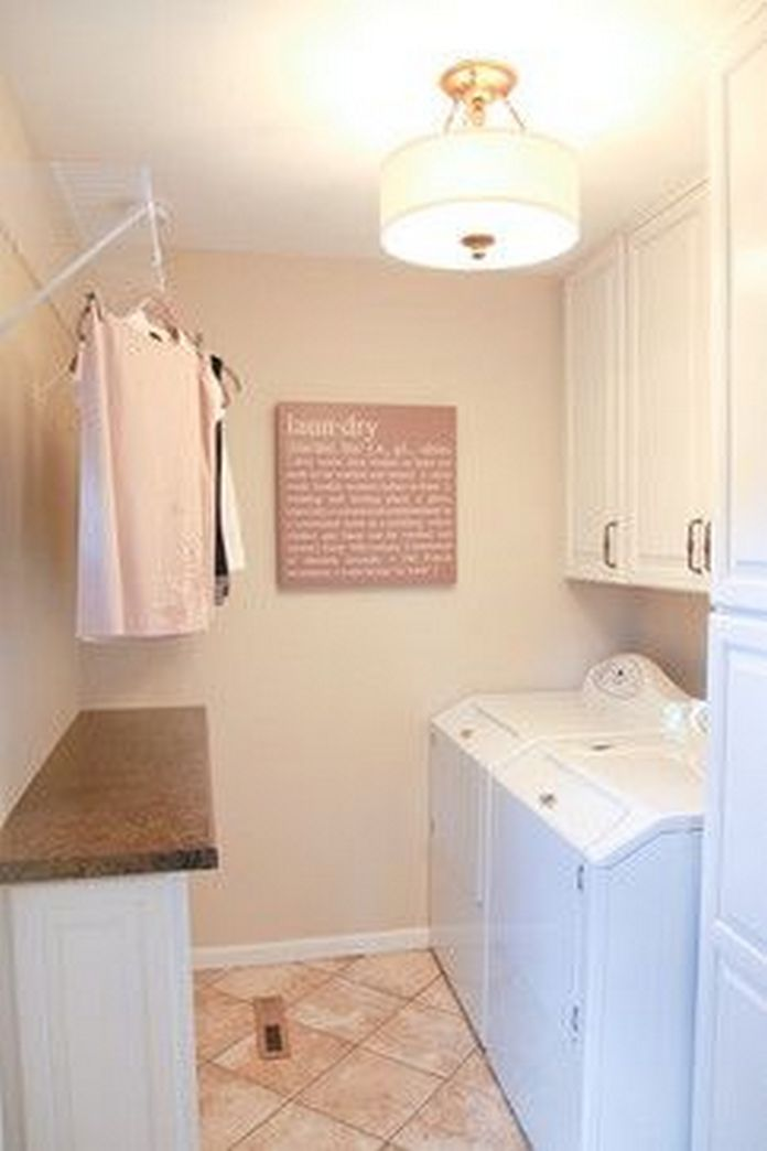 87 Outstanding Basement Laundry Rooms Decoration Models 20