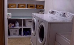 87 Outstanding Basement Laundry Rooms Decoration Models 21