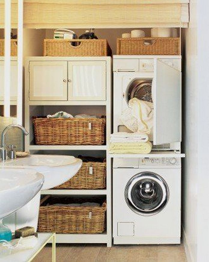 87 Outstanding Basement Laundry Rooms Decoration Models 30