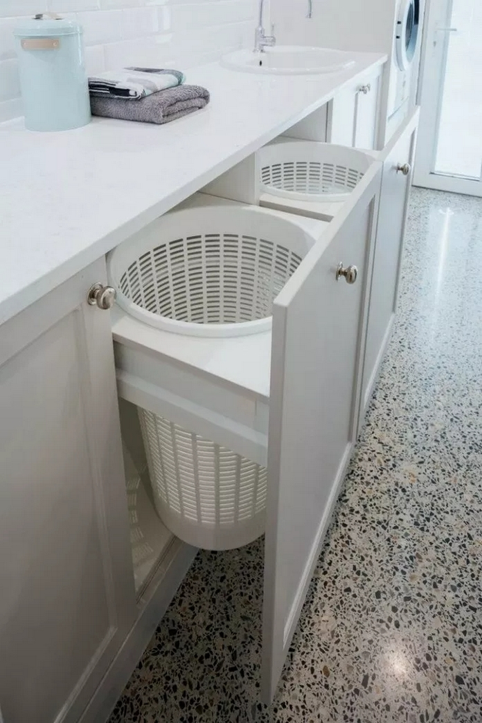 87 Outstanding Basement Laundry Rooms Decoration Models 31