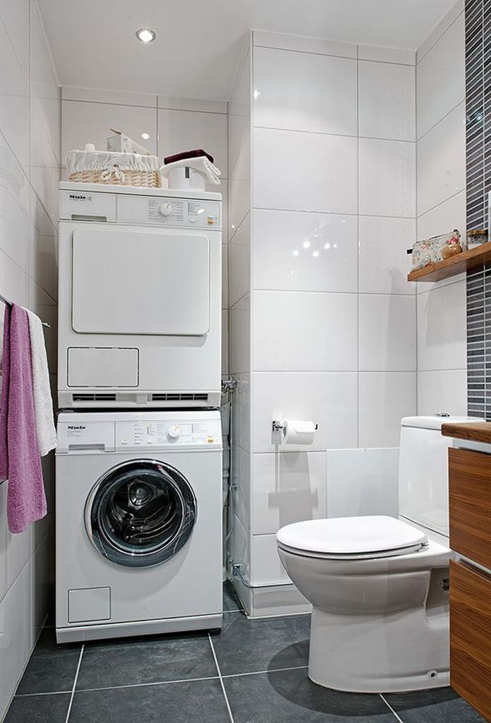 87 Outstanding Basement Laundry Rooms Decoration Models 45