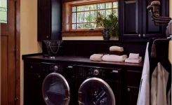 87 Outstanding Basement Laundry Rooms Decoration Models 51
