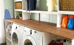 87 Outstanding Basement Laundry Rooms Decoration Models 55