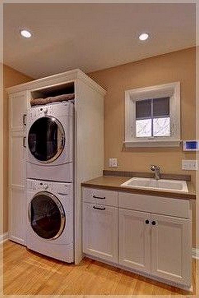 87 Outstanding Basement Laundry Rooms Decoration Models 57