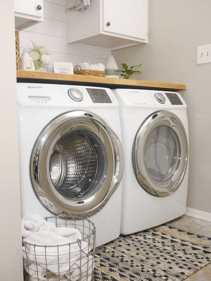 87 Outstanding Basement Laundry Rooms Decoration Models 60